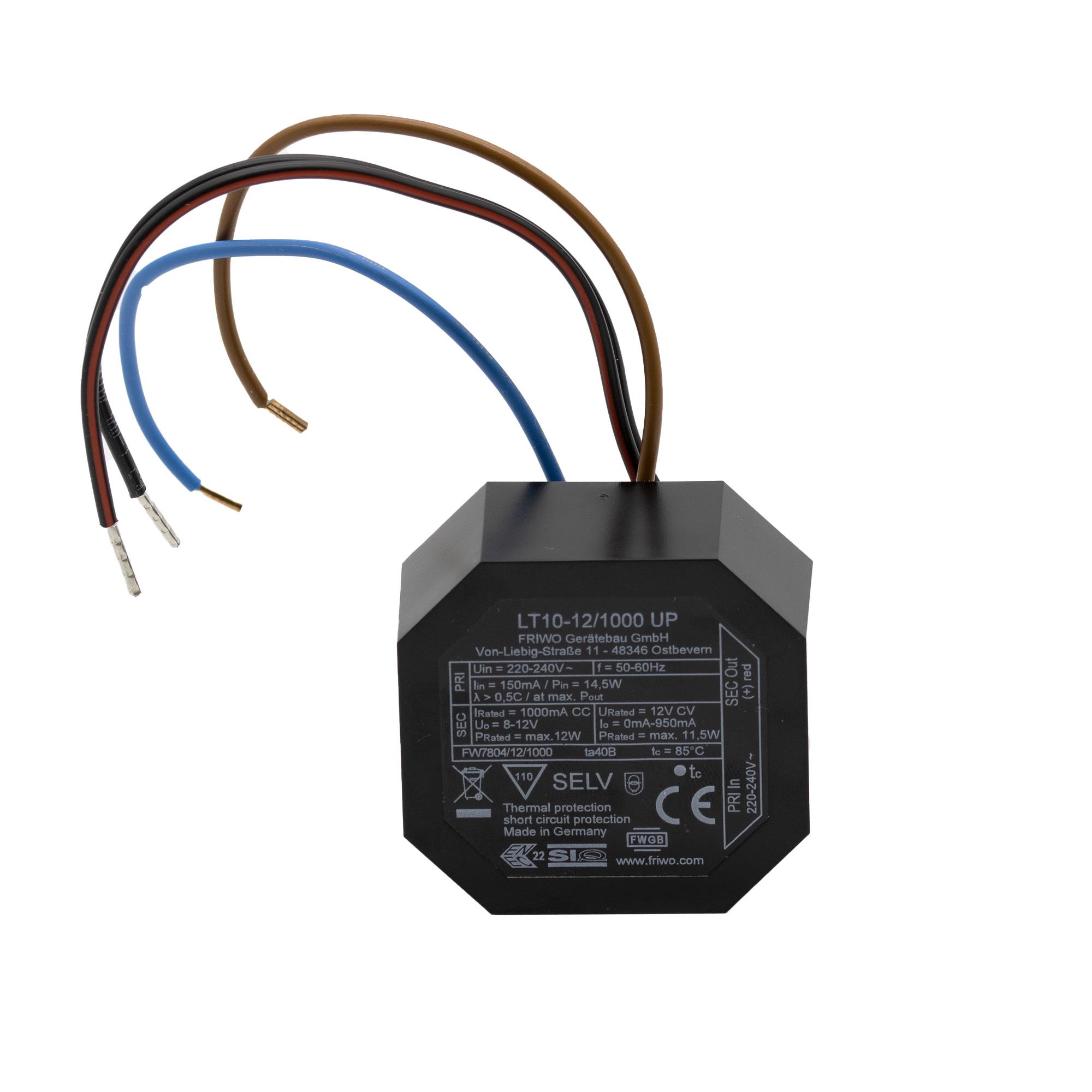 SOMMER Netzteil 230V/12V/1000mA DC