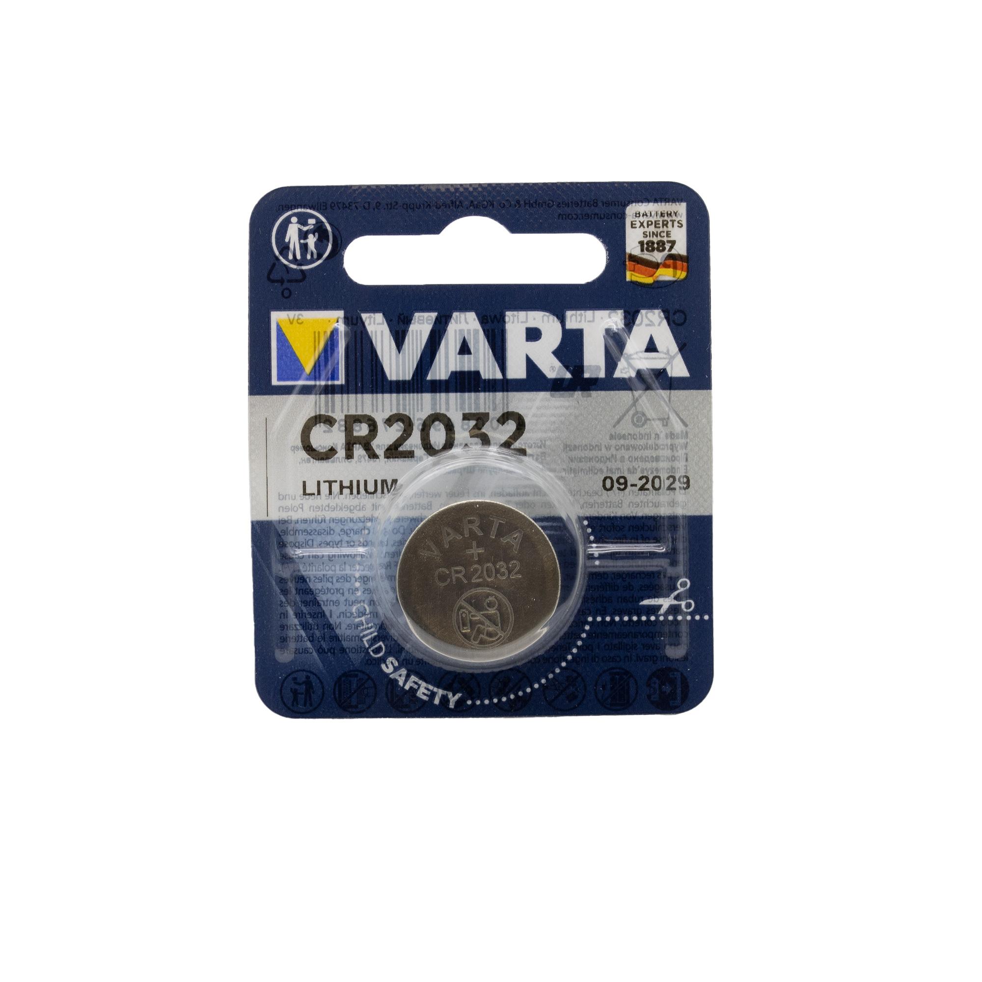 Batterie 3V Typ CR2032