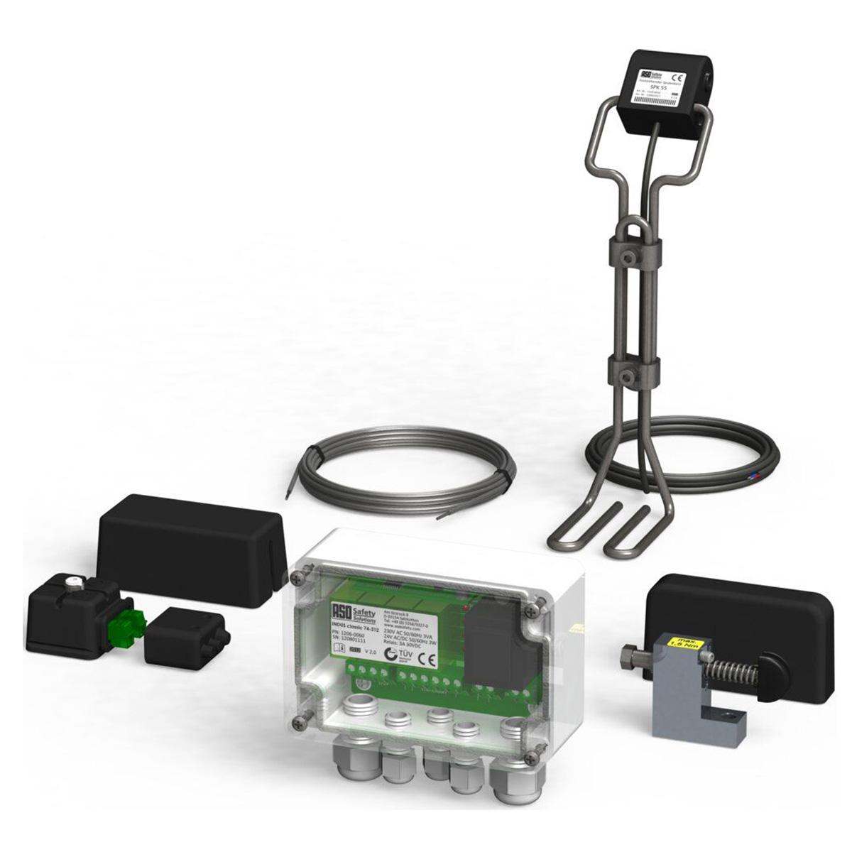 SOMMER Induktives Stromübertragungssystem, IP 65