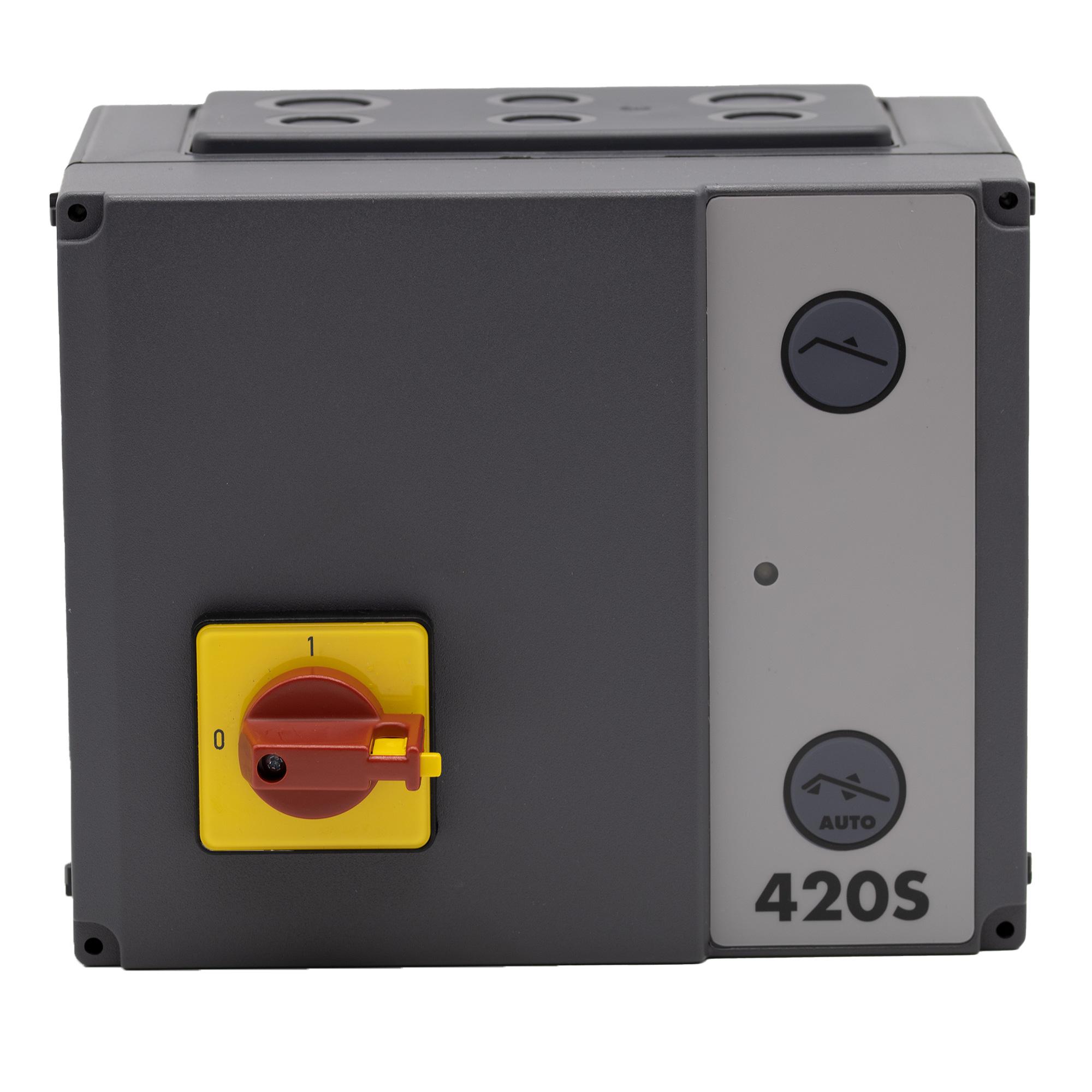 Hörmann Steuerung 420 S energiesparend mit Hauptschalter